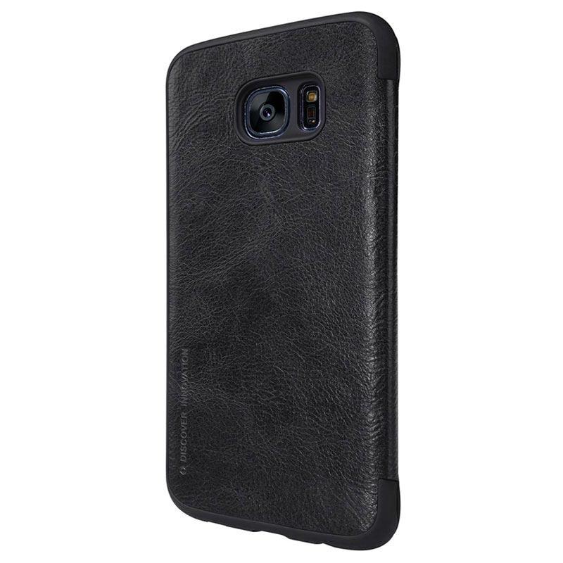 quality design 3a766 ced19 Samsung Galaxy S7 Edge Nillkin Qin Series Flip Case