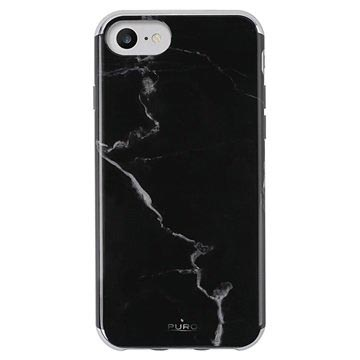 nuovo di zecca 6700e 3a9fe iPhone 6/6S/7/8 Puro Marble Case - Black